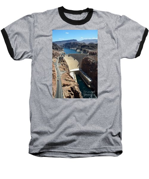 Hoover Dam Baseball T-Shirt by RicardMN Photography