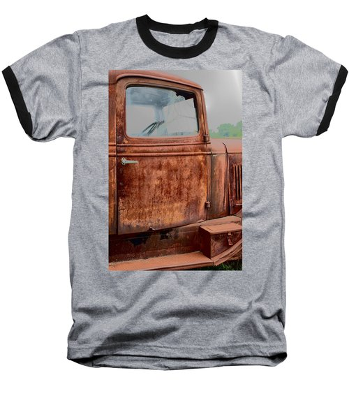 Baseball T-Shirt featuring the photograph Hop In by Lynn Sprowl