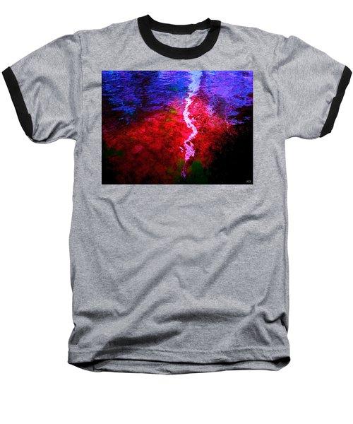 Baseball T-Shirt featuring the digital art Hope For A Broken Heart - Healing Art by Absinthe Art By Michelle LeAnn Scott