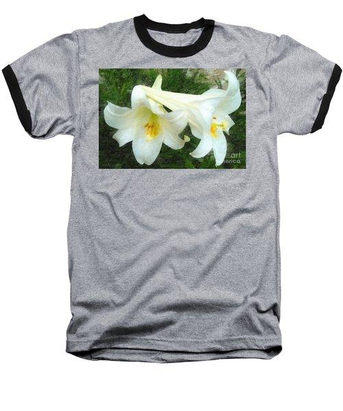 Baseball T-Shirt featuring the digital art Hope Is Risen by Lianne Schneider