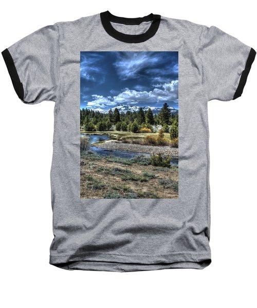 Hope Valley Wildlife Area 2 Baseball T-Shirt