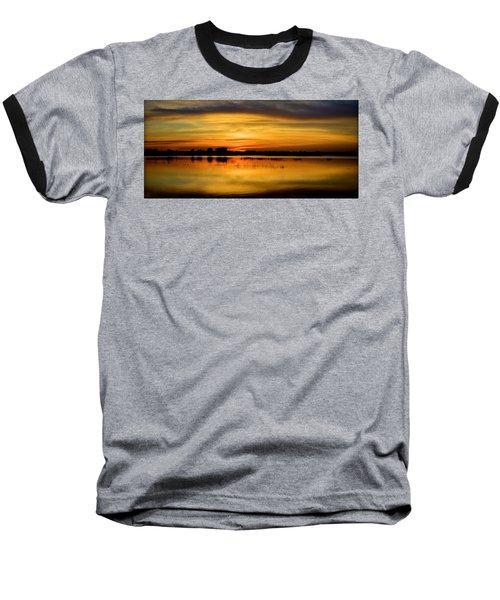 Horizons Baseball T-Shirt by Bonfire Photography