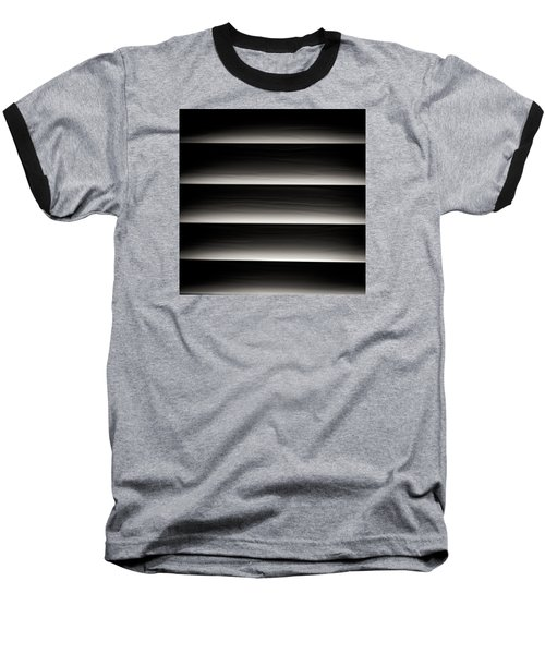 Horizontal Blinds Baseball T-Shirt by Darryl Dalton