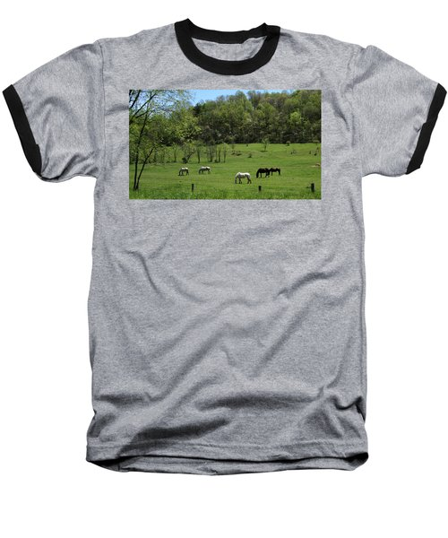 Horse 27 Baseball T-Shirt