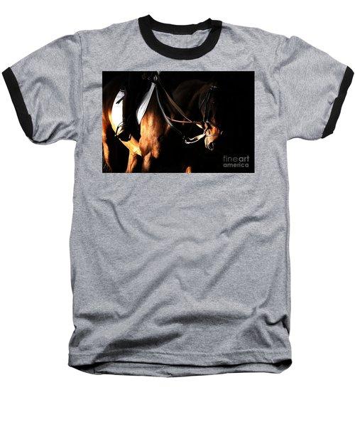 Horse In The Shade Baseball T-Shirt