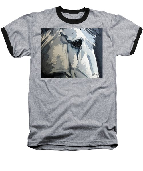 Horse Look Closer Baseball T-Shirt