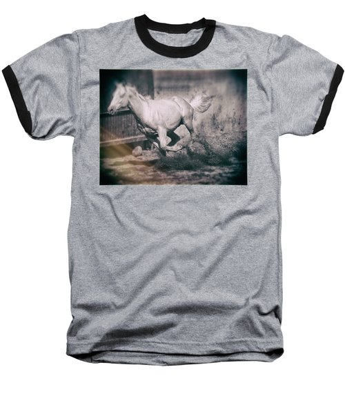 Horse Power Baseball T-Shirt