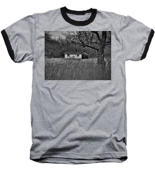 Horse Shed Baseball T-Shirt by Robert Geary