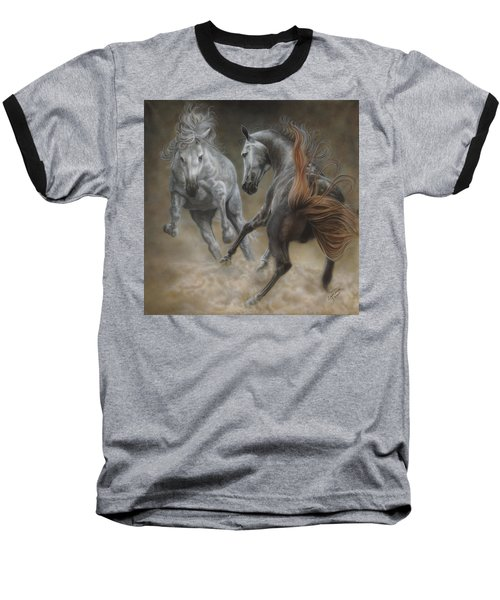 Horseplay II Baseball T-Shirt