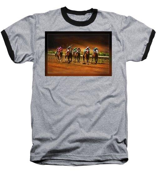 Horse's 7 At The End Baseball T-Shirt