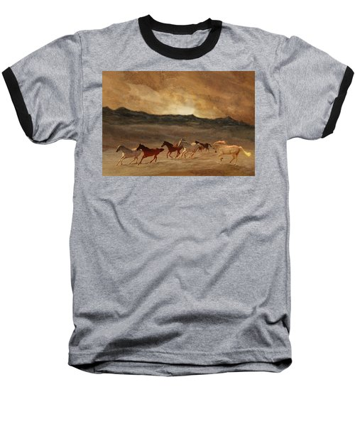Horses Of Stone Baseball T-Shirt