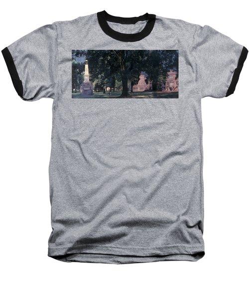 Horseshoe At University Of South Carolina Mural Baseball T-Shirt