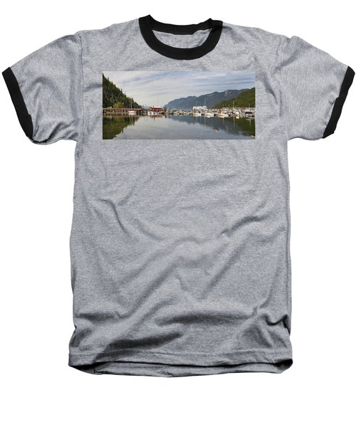 Baseball T-Shirt featuring the photograph Horseshoe Bay Vancouver Bc Canada by JPLDesigns