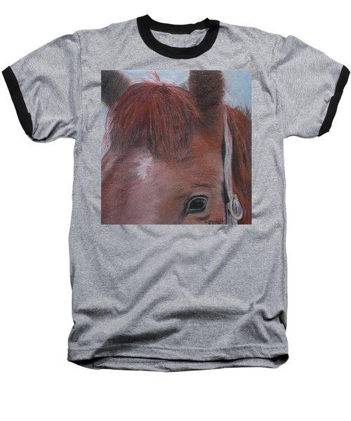 Horsin' Round A Bit Baseball T-Shirt