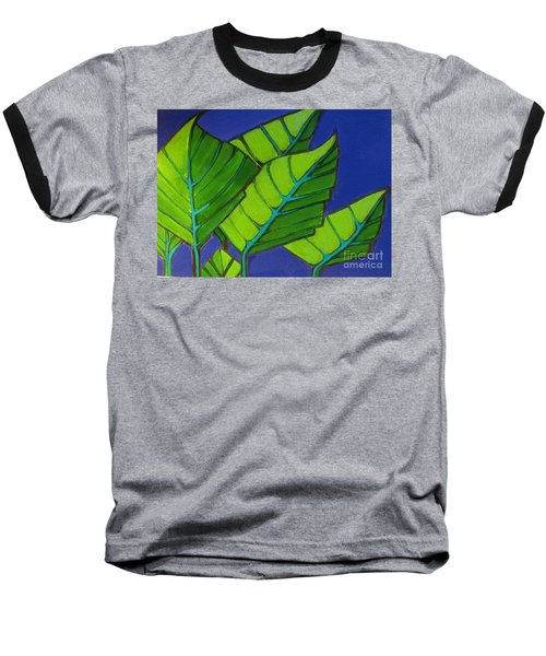 Hosta Blue Tip One Baseball T-Shirt
