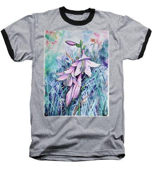 Hosta's In Bloom Baseball T-Shirt