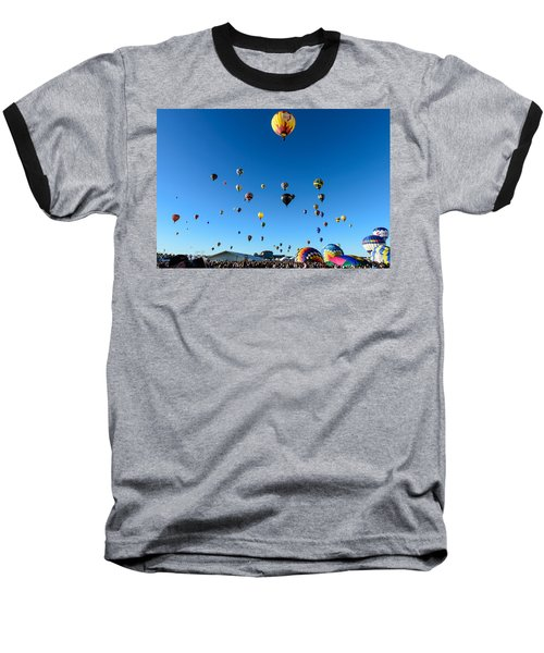 Hot Air Balloons Baseball T-Shirt