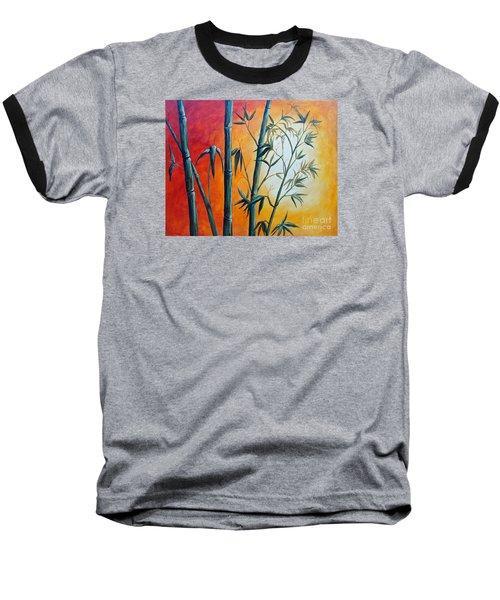 Hot Bamboo Days Baseball T-Shirt