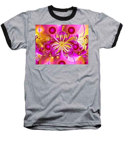 Hot Orchid Baseball T-Shirt