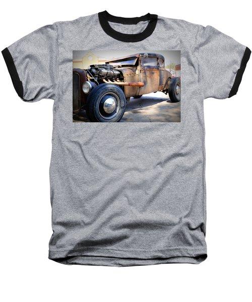 Hot Rod Baseball T-Shirt by Lynn Sprowl