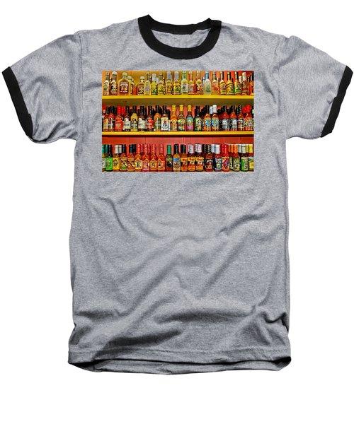 Hot Stuff Baseball T-Shirt by DJ Florek