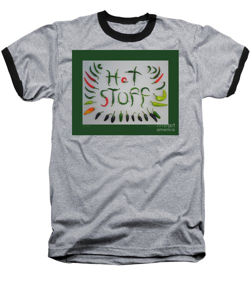 Hot Stuff Baseball T-Shirt