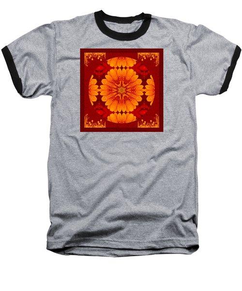 Hot Tropical Zen Baseball T-Shirt
