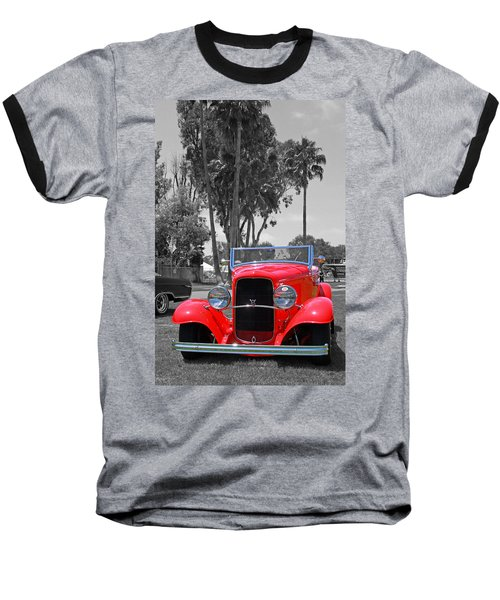 Baseball T-Shirt featuring the photograph Hot V8 by Shoal Hollingsworth