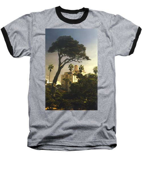 Hotel California- La Jolla Baseball T-Shirt