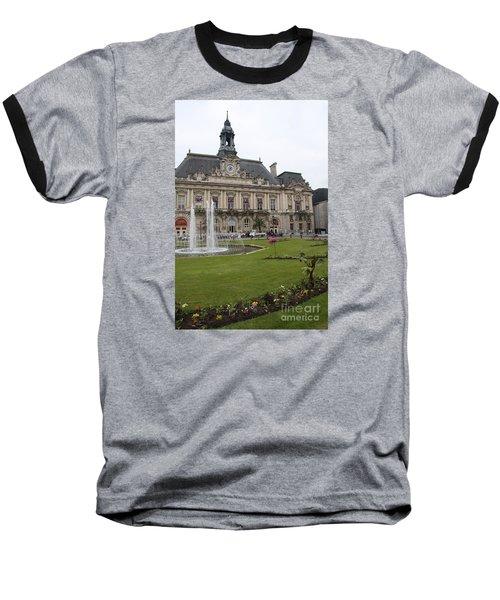 Hotel De Ville - Tours Baseball T-Shirt by Christiane Schulze Art And Photography
