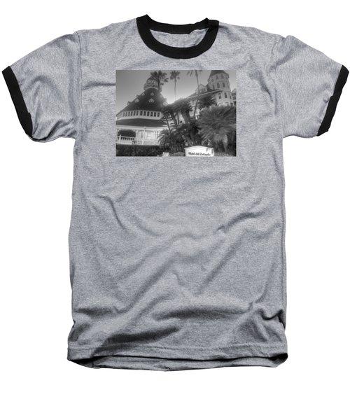 Hotel Del At Sunset Baseball T-Shirt