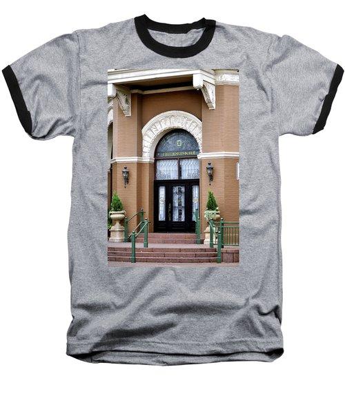 Hotel Door Entrance Baseball T-Shirt