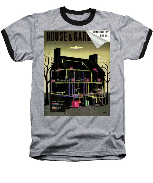House And Garden Cover Illustration Of The Internal Baseball T-Shirt