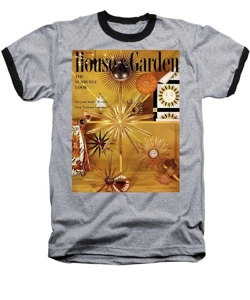 House And Garden Cover Baseball T-Shirt