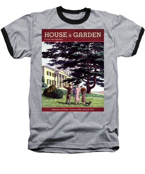 House And Garden Houses For All Tastes Cover Baseball T-Shirt