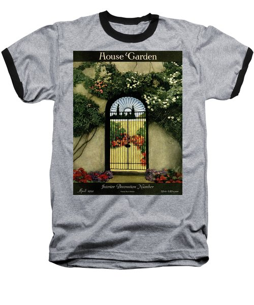 House And Garden Interior Decoration Number Baseball T-Shirt