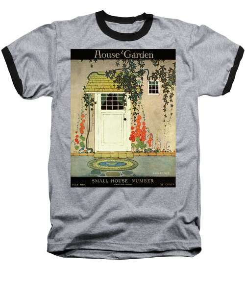 House And Garden Small House Number Cover Baseball T-Shirt