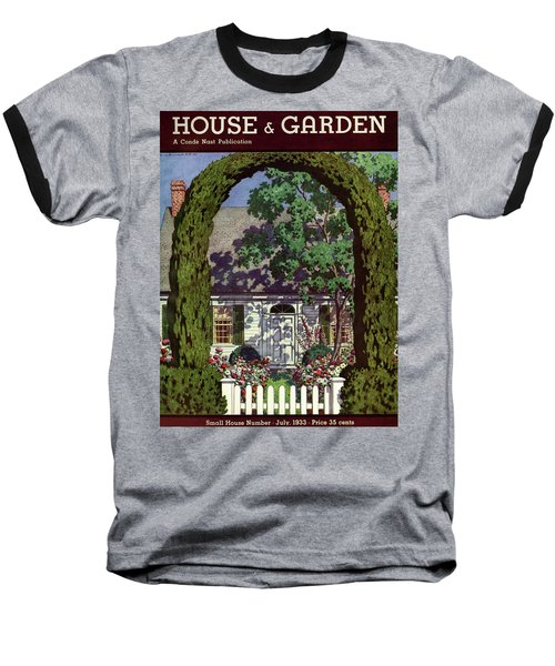 House And Garden Small House Number Baseball T-Shirt