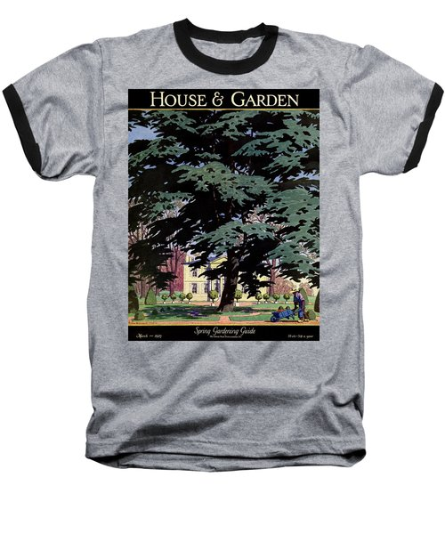 House And Garden Spring Gardening Guide Cover Baseball T-Shirt