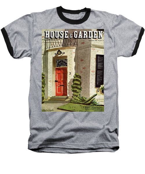 House And Garden Trends In Decorating Cover Baseball T-Shirt