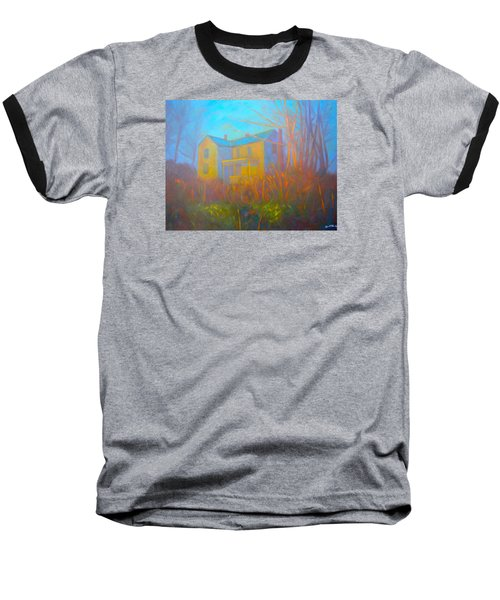 House In Blacksburg Baseball T-Shirt by Kendall Kessler