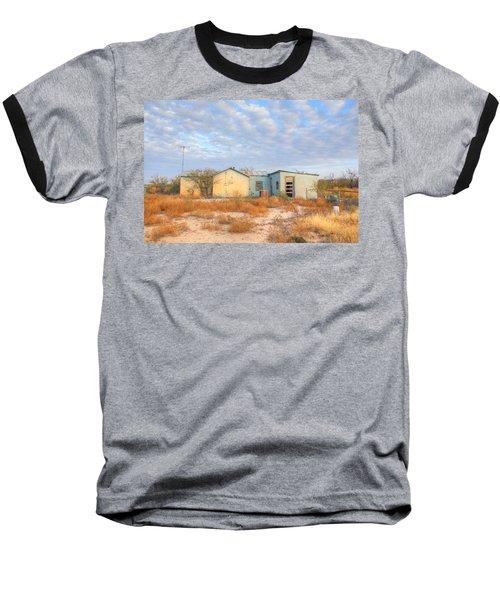 House In Ft. Stockton Iv Baseball T-Shirt by Lanita Williams