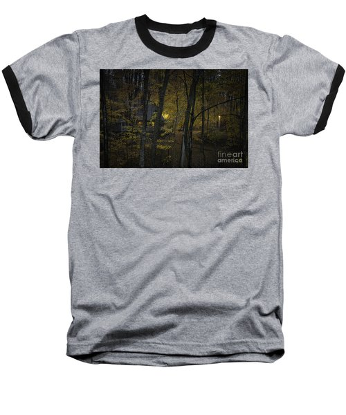 House In The Woods Baseball T-Shirt