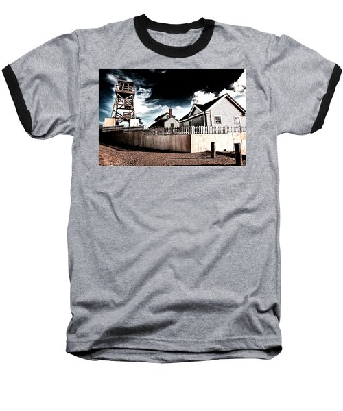 House Of Refuge Baseball T-Shirt by Bill Howard