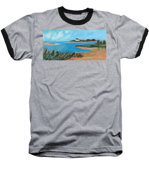 House On The Point Baseball T-Shirt