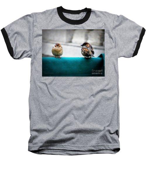 House Sparrows Baseball T-Shirt