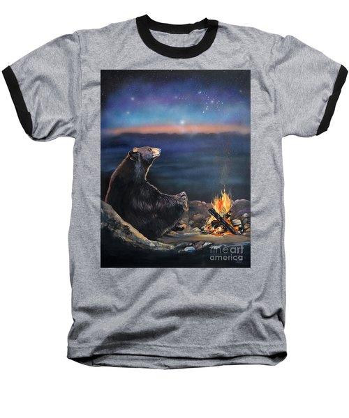 How Grandfather Bear Created The Stars Baseball T-Shirt