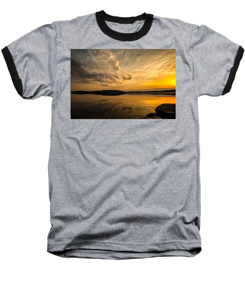 Baseball T-Shirt featuring the photograph How Great Thou Art by Rose-Maries Pictures
