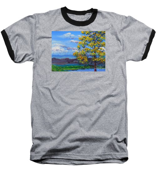 How Lovely Is Your Dwelling Place Baseball T-Shirt by Dan Whittemore