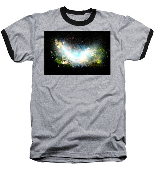 Hubble Birth Of A Galaxy Baseball T-Shirt